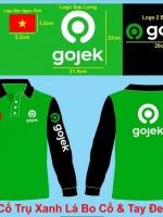 May áo thun đồng phục Gojek